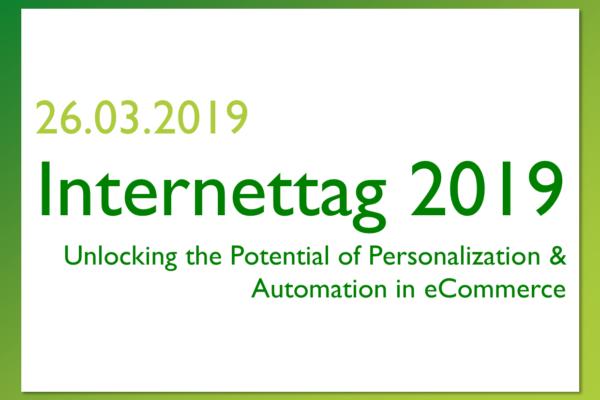 Veranstaltungshinweis: Internettag 2019 der Universität St.Gallen