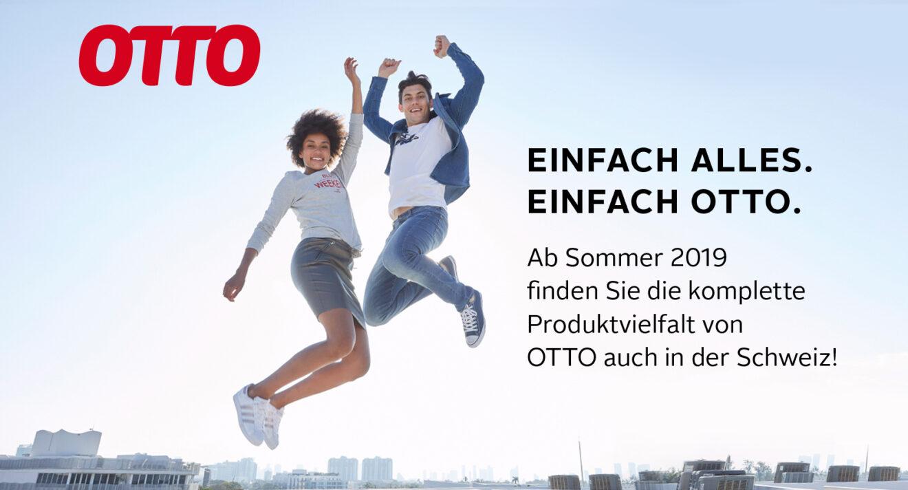 Deutscher Otto-Versand startet im Sommer in der Schweiz