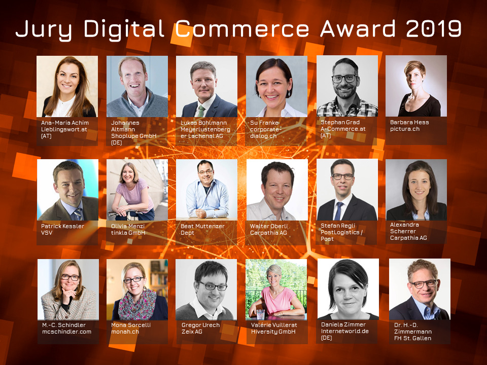 Knapp 100 Teilnehmer für die Digital Commerce Awards 2019