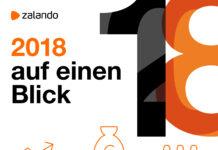 Zalando 2018 auf einen Blick: Quelle: Zalando