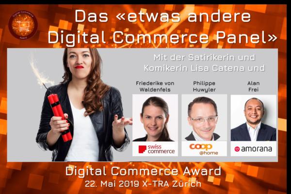 """Das """"etwas andere Digital Commerce Panel"""" als Überraschung an der diesjährigen Preisverleihung der Digital Commerce Awards"""