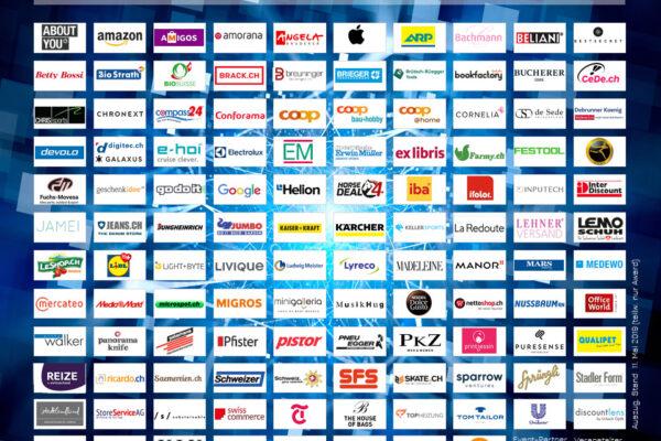 Diese Hersteller und Händler sind alle dabei, dam 22. Mai 2019 an der Connect - Digital Commerce Conference (Auszug vom 12. Mai 2019)