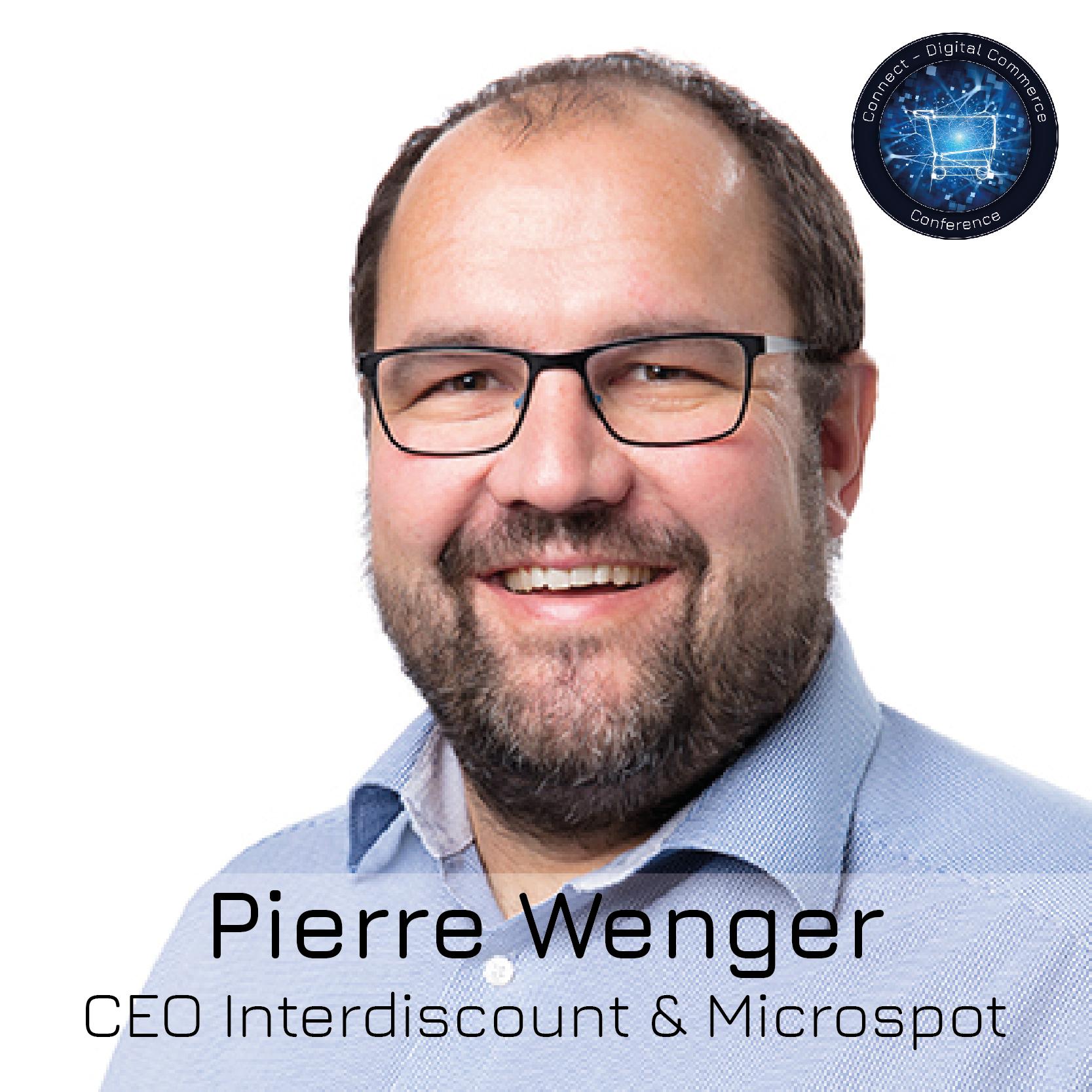 Pierre Wenger, Unternehmensleiter Interdiscount / Microspot