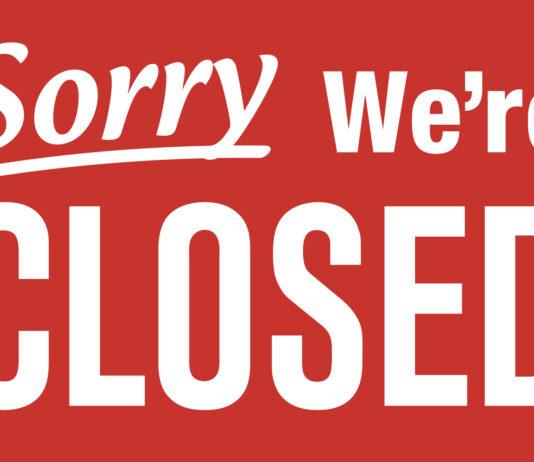 Sorry, we're closed - Ladensterben in den USA und der Schweiz - Bild: Fotolia