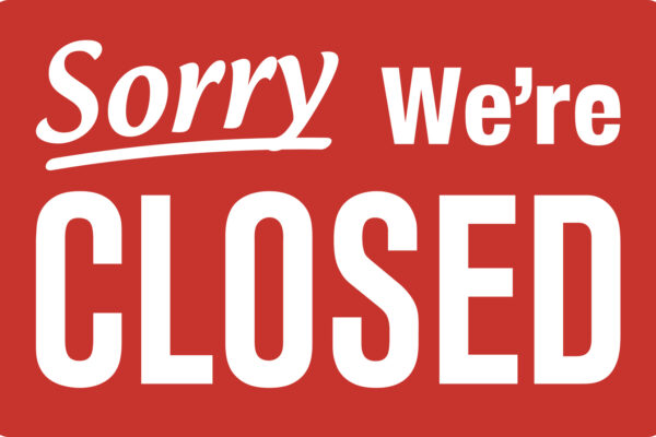 Sorry, we're closed - Ladensterben in den USA und der Schweiz - Bild: Fotolia