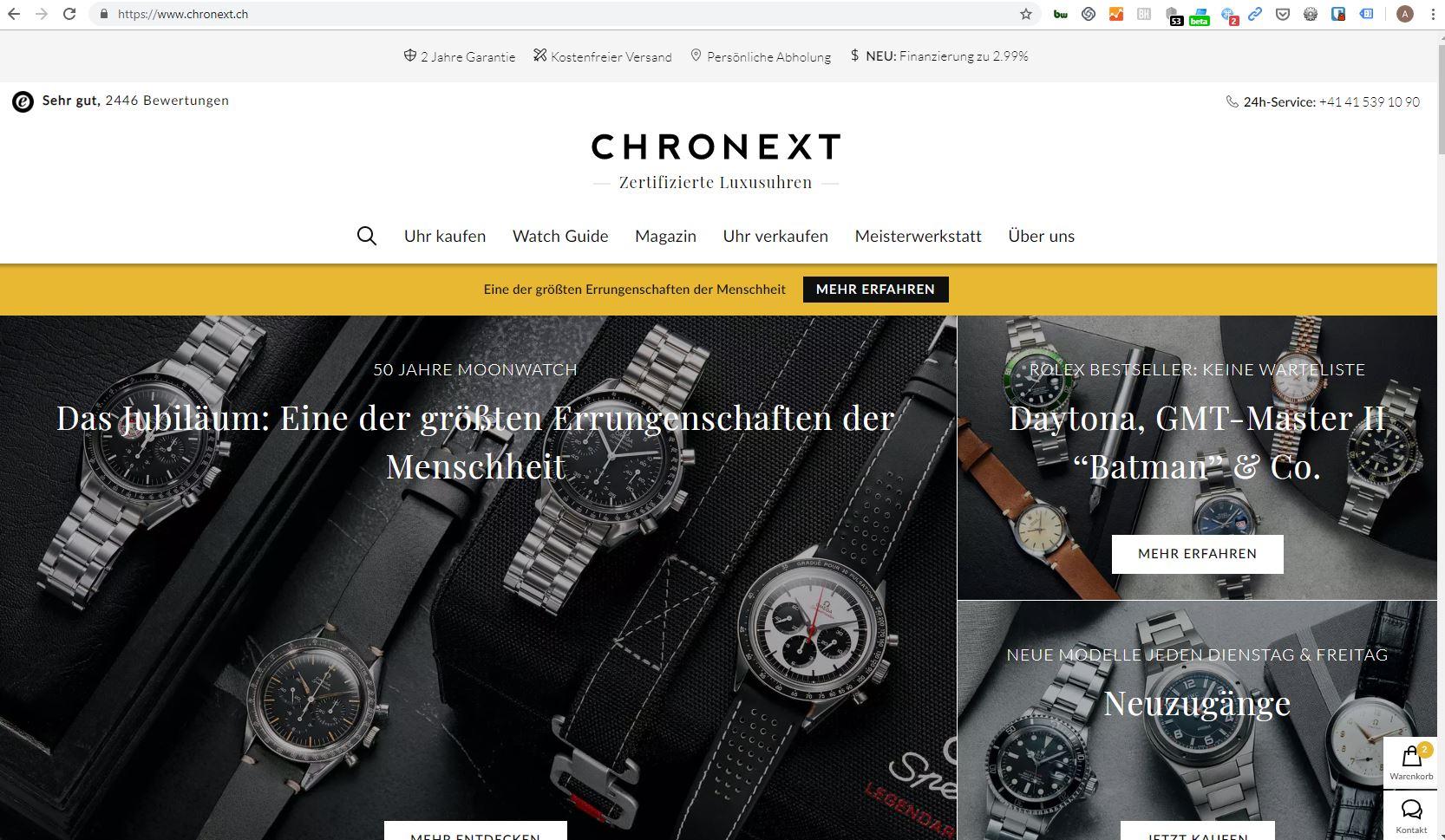crhonext printscreen