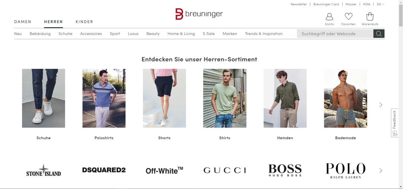 Breuninger startet in der Schweiz - Otto wartet weiter zu