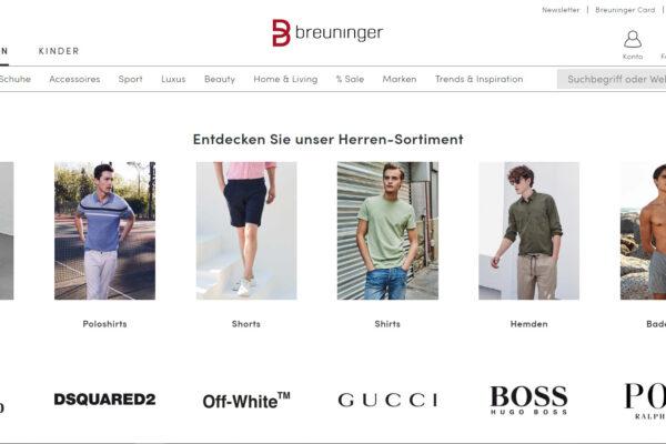 Breuninger startet in der Schweiz – Otto wartet weiter zu