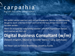 Carpathia sucht: Digital Business Consultant (w/m)