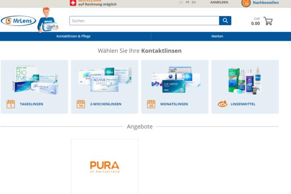 Konsolidierung im Schweizer Onlinehandel: Discountlens übernimmt MrLens