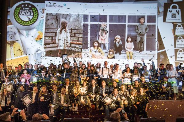 Shop Usability Award 2019 - Preisverleihungala in München - Foto: Fotocredits: Max Prechtel / Shoplupe GmbH