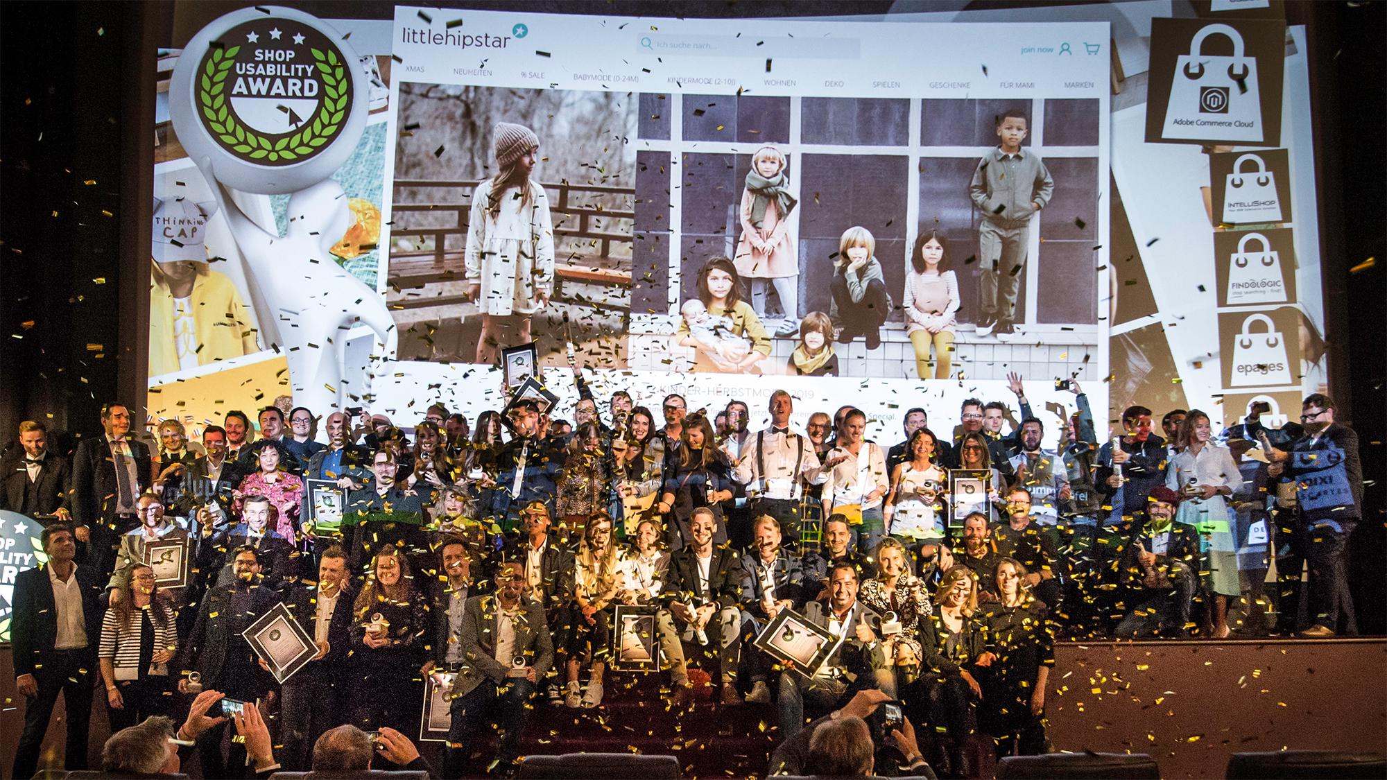 Shop Usability Award 2019 - Preisverleihungala in München - Foto: Max Prechtel / Shoplupe GmbH