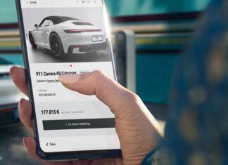 Porsche verkauft seine Sportwagen nun online - Bild: https://presse.porsche.de