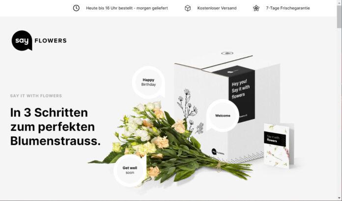 Startseite: sayflowers.ch
