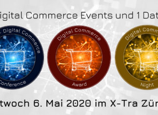 6. Mai 2020 - Connect - Digital Commerce Conference, Verleihung Digital Commerce Awards und Night