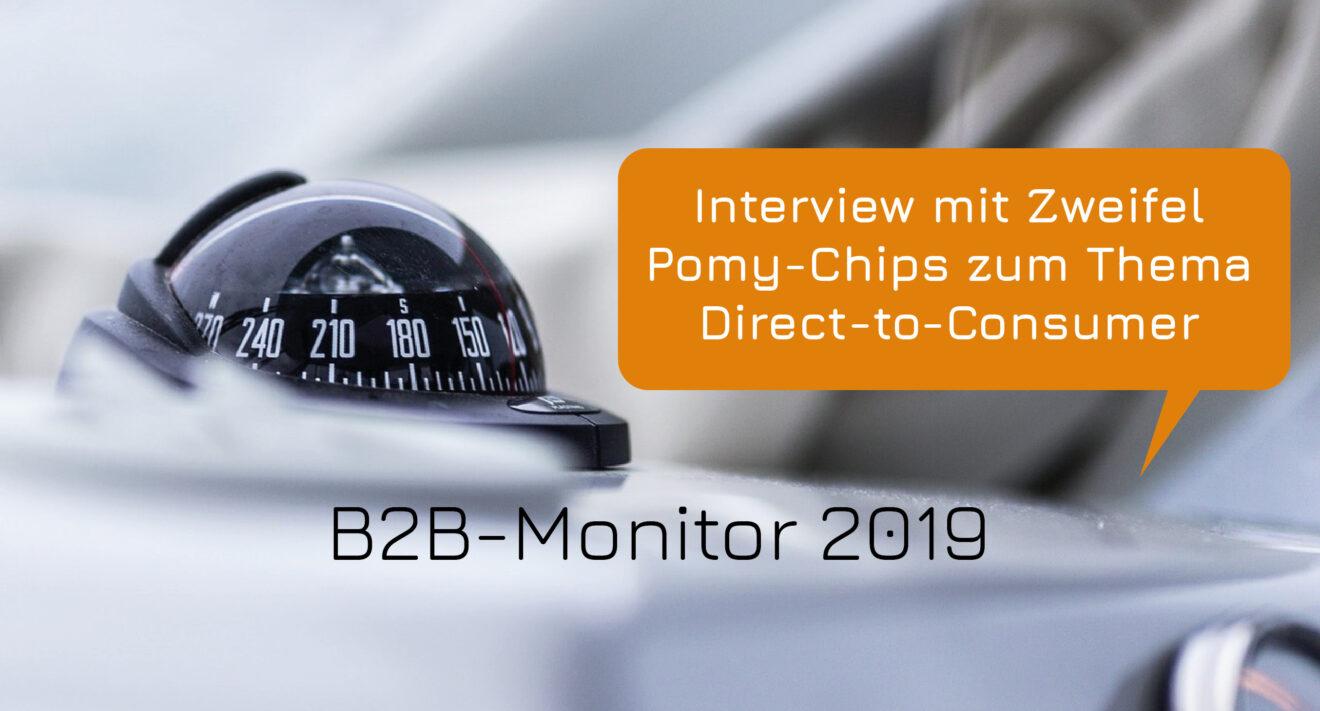 B2B-Monitor 2019: Interview mit Zweifel Pomy-Chips zum Thema Direct-to-Consumer