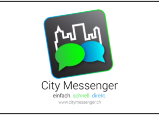«City Messenger» der Stadt St. Gallen