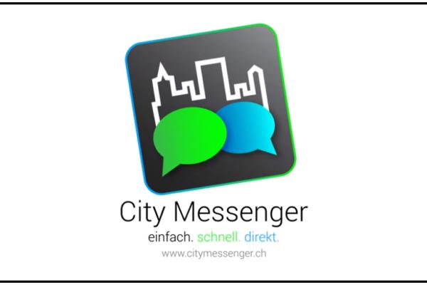«City Messenger» der Stadt St. Gallen