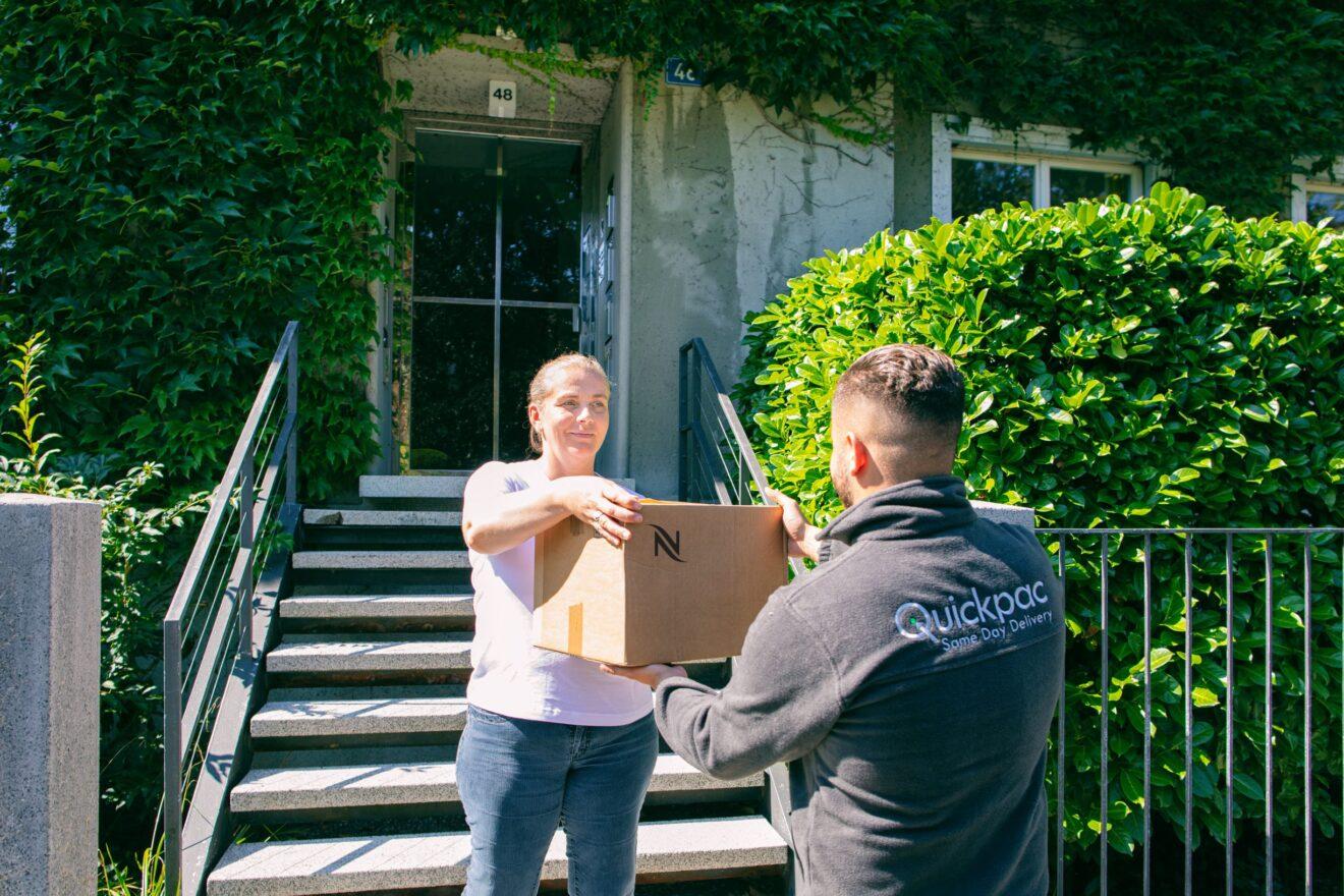Nachhaltige Paketzustellung: Quickpac macht es vor