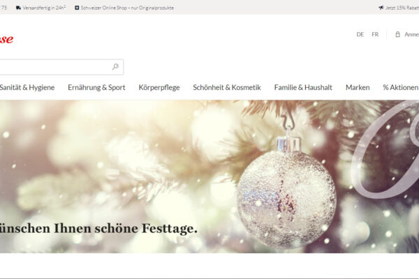 Zur Rose Onlineshop