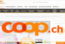 coop@home soll in coop.ch integriert werden / Visualisierung Carpathia AG