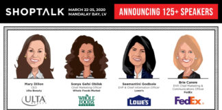 shoptalk 2020 - All Female Speaker-Lineup