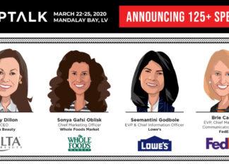 shoptalk 2020 - All Female Speaker-Lineup
