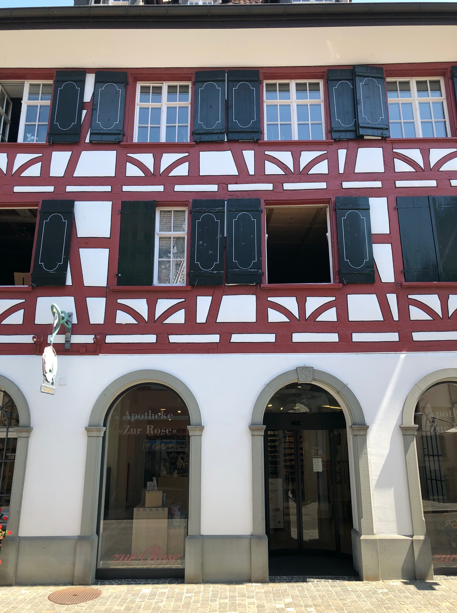 Aotheke Zur Rose in Steckborn am Bodensee / Foto: T. Lang