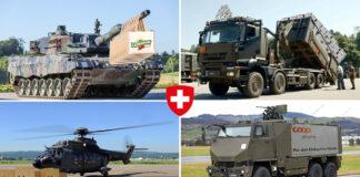Postkarte: Die Schweizer Armee im Einsatz für den Onlinehandel.