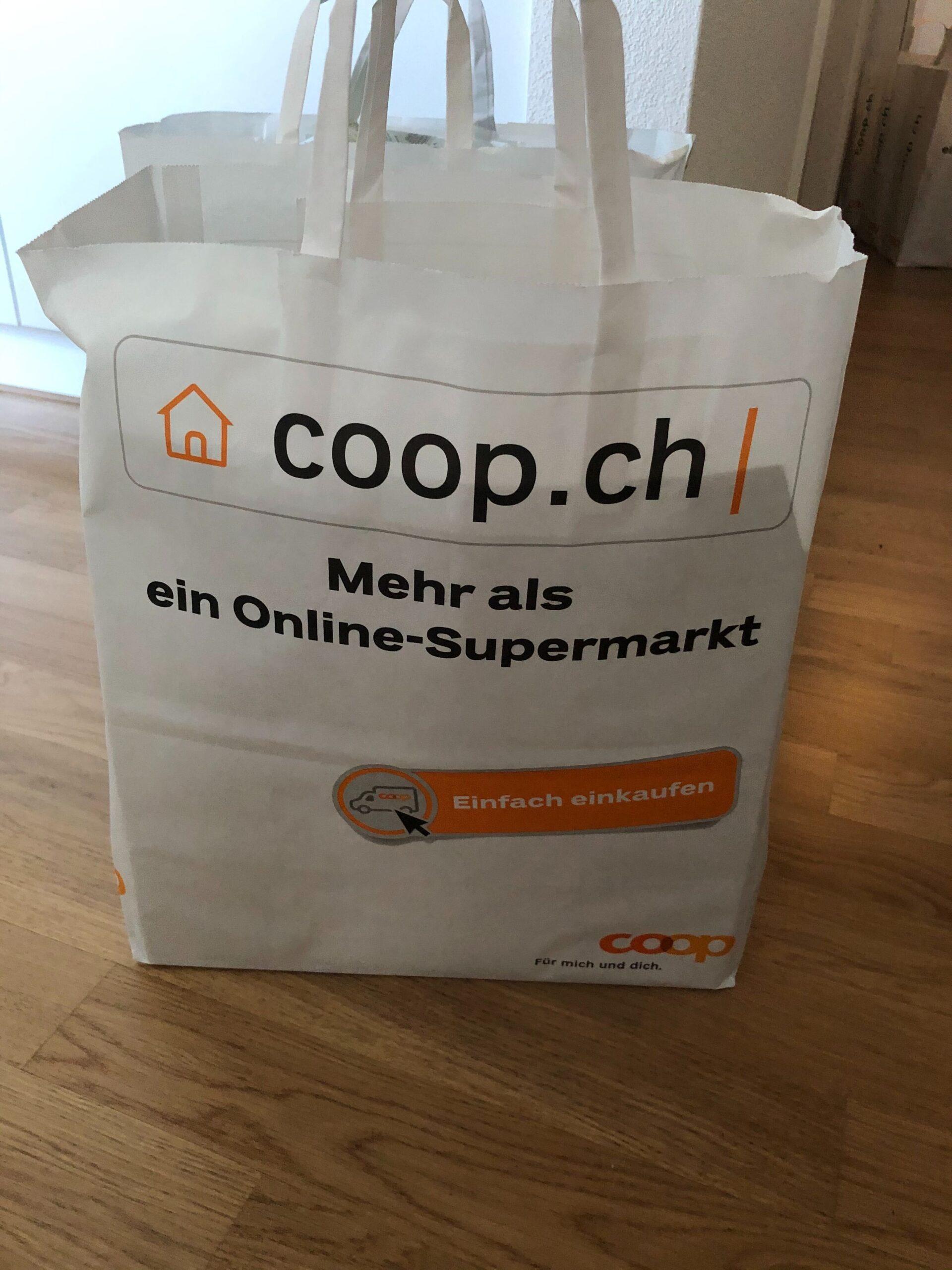 coop@home liefert bereits in coop.ch Taschen aus.