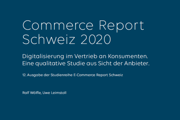 Commerce Report Schweiz 2020