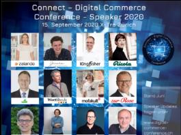 Connect - Digital Commerce Conference: Speaker Lineup 2020 - weitere folgen - Programmänderungen vorbehalten