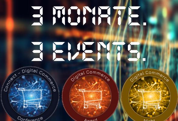 Countdown: Drei Monate bis zur Connect – Digital Commerce Conference und Award Verleihung #dcomzh