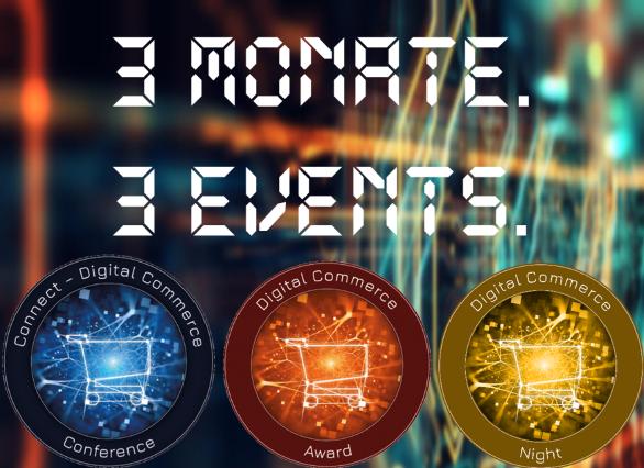 Countdown: Drei Monate bis zur Connect - Digital Commerce Conference und Award Verleihung #dcomzh
