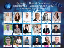 Speaker*innen Lineup - Connect - Digital Commerce Conference 2020