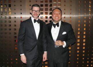 Gründer Lukas Speiser und Alain Frei anlässlich der 5. Geburtstagsfeier von Amorana im Februar 2019 (Bild: Netzmedien)