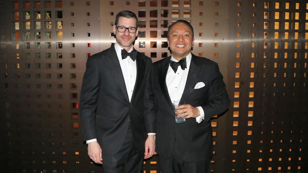 Gründer Lukas Speiser und Alan Frei anlässlich der 5. Geburtstagsfeier von Amorana im Februar 2019 (Bild: Netzmedien)