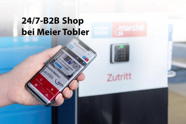 Meier Tobler eröffnet 24/7 B2B Shop – wie Amazon Go unbemannt ausserhalb der Öffnungszeiten