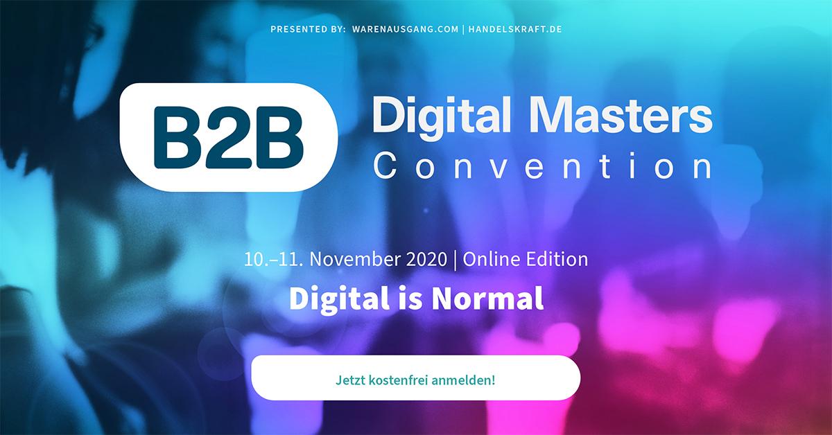B2B Digital Masters Convention 2020 (Veranstaltungshinweis)