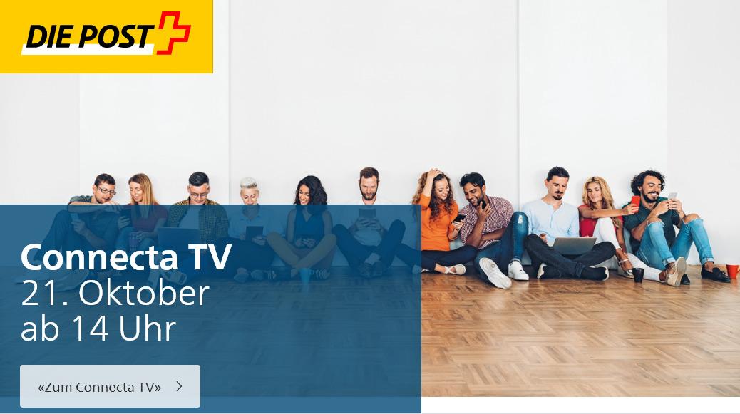 Connecta TV am 21. Oktober um 14 Uhr
