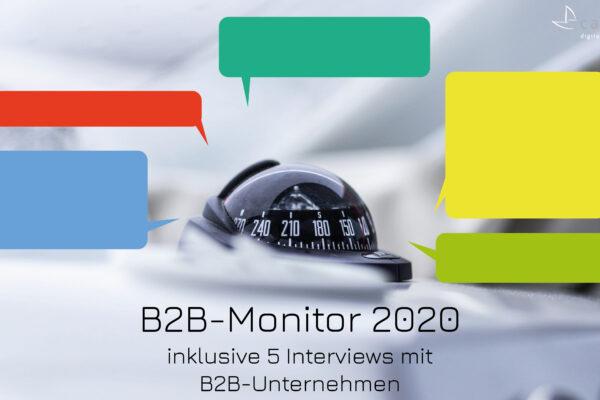 B2B-Monitor 2020: Buyer-Erwartungen entlang der E-Commerce Kernprozesse und Kennzahlen