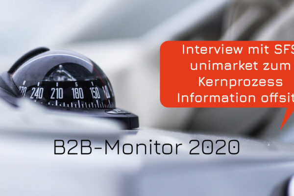 Neukundengewinnung über digitale Kanäle im B2B (B2B-Monitor 2020)