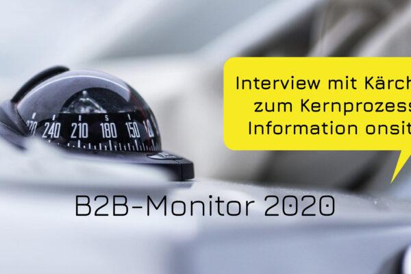 Der Onlineauftritt als essenzielle Informationsquelle im B2B (B2B-Monitor)