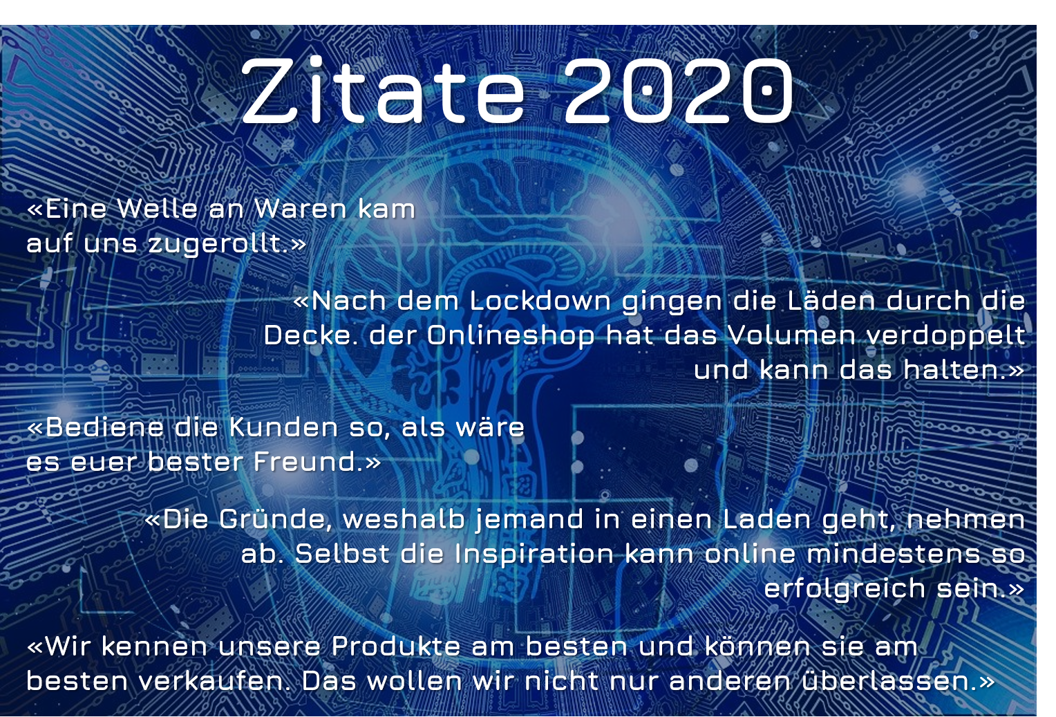 Digital Commerce 2020 Zitate