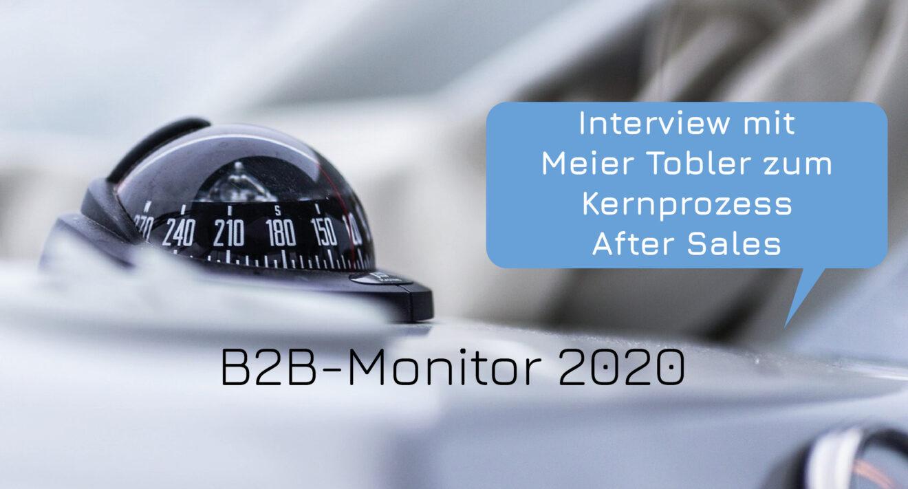 Kundenbindung und Folgeaufträge dank After Sales Massnahmen (B2B-Monitor)