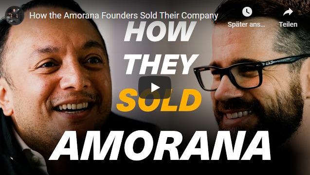 Amorana-Gründer sprechen über den Verkauf ihrer Firma