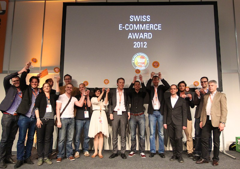 Der erste Swiss E-Commerce Award fand 2021 an der Internet-Fachmesse ONE Web-Business statt.
