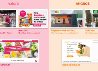 Vergleich Valora / Migros Convenience-Formate