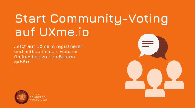 Start Community-Voting: Jetzt jurieren und mitbestimmen
