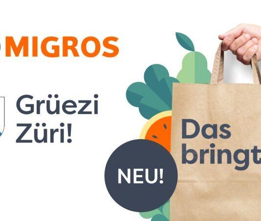 myMigros startet in Zürich am Sechseläuten-Montag 19.4.2021